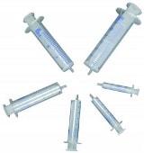 plastic syringes